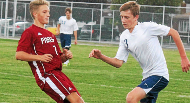 Boys Soccer Ties Gabriel Richard