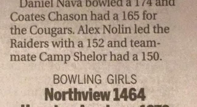 Boys and Girls Bowling Teams are 3-0 In Inaugural Season