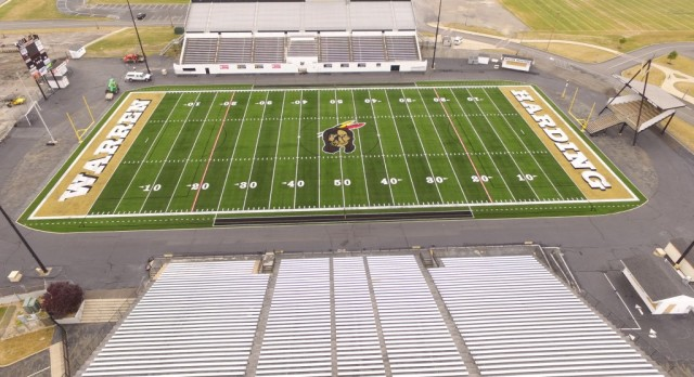 New Field @ Mollenkopf Stadium!