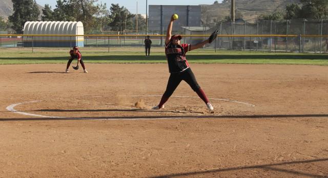 Colton High School Varsity Softball beat Bloomington High School 18-4