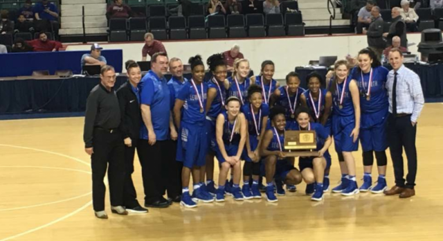 Lady Pioneers Finish 3rd at State
