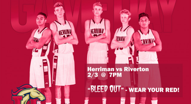 Boys Basketball tonight at Herriman against Riverton