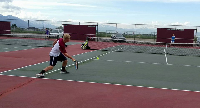 Boys Tennis Today 3/21 at Lone Peak