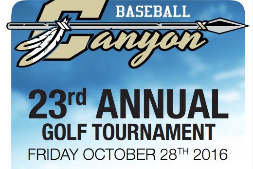 Baseball's 23rd Annual Golf Tournament