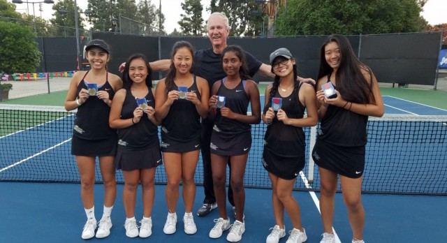 Canyon Wins North Hills League Singles & Doubles Championship