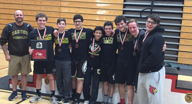 Canyon Wrestling Takes 4th at Opening Weekend Tournament