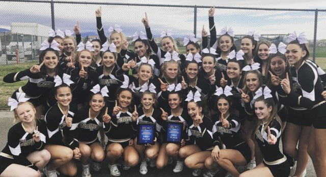 Cheer takes a win on first competition of the season!