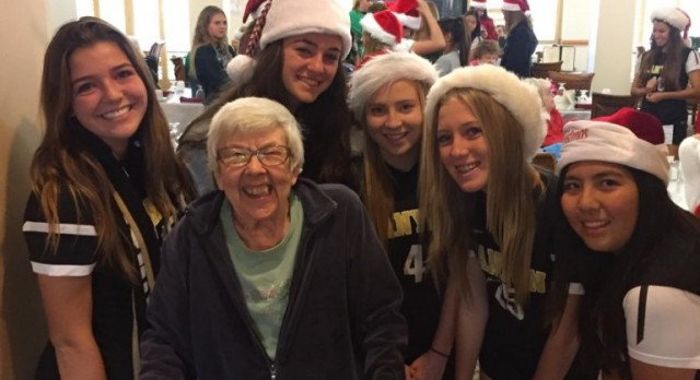 Going Above & Beyond Athletics During the Holidays