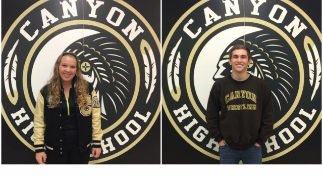 December-January Athletes of the Month