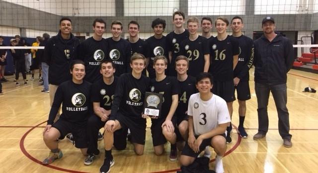 Canyon/Anaheim Boys Varsity Volleyball beat Capistrano Valley High School 2-0