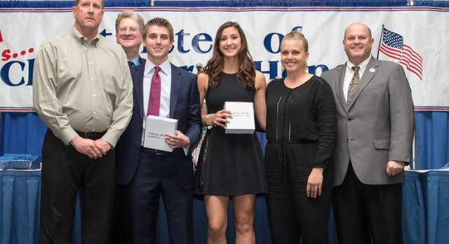 Dunn & Young Named OCADA Athletes With Character Award Winners