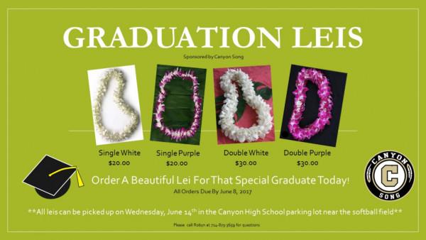 Graduation Leis 2017