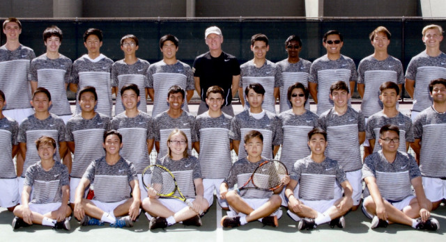 Boys Tennis Clinched League Championship & First Round CIF
