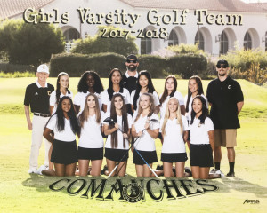 Girls Golf Varsity Team Pic 2017