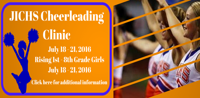 JICHS Cheerleading Camp Registration is Open
