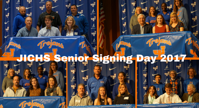 JICHS Senior Athletes Signing Day