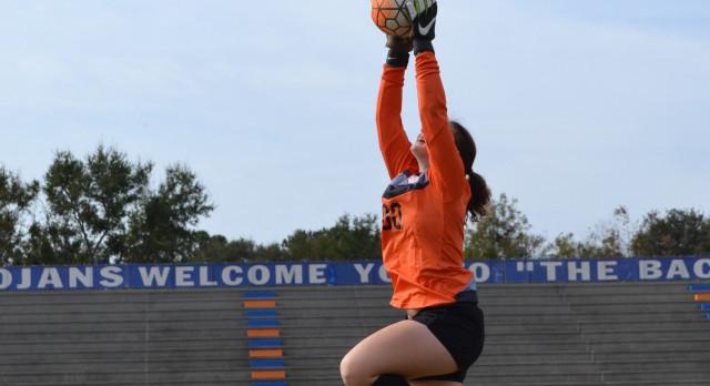 James Island Charter High School Girls Varsity Soccer beat Fort Dorchester High School 3-2