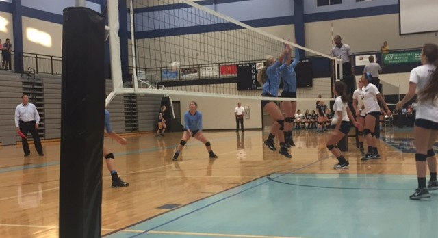 Volleyball Dominates In Opener