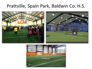 Indoor facilities of similar sized schools in Alabama.