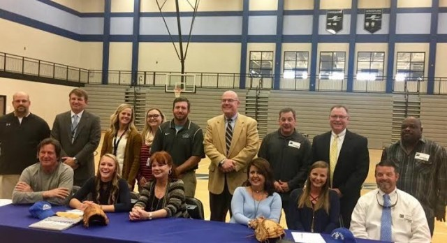 Softball Players Sign Letters of Intent