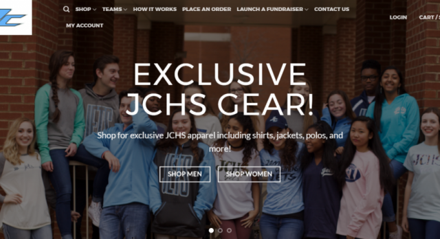 JC Launches Apparel Website