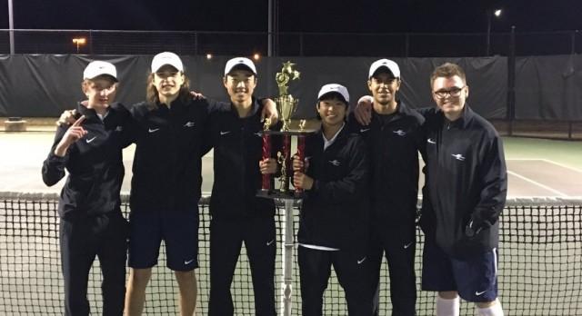 Boys Tennis Co-Champs
