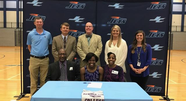 Benson Signs With Spring Hill