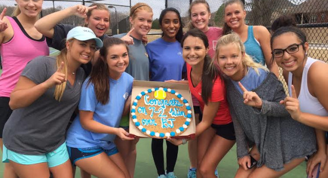 Girls Tennis Takes 2 Section Matches