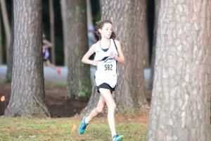Nikki Lipski 3rd overal in Junior High Race