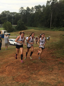 THE PACK Hollie Shereyk, Sydney Freeman, and Nikki Lipski ALL ELITE RUNNERS