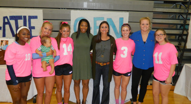 Volleyball Senior Night vs. Muscle Shoals