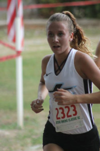 Jenna Shereyk  ALL ELITE RUNNER TEAM VARSITY Girls 9th overall 260 runners 2