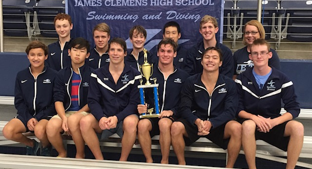 Second Year in a Row the JCHS Swim and Dive Team Wins the North Alabama Championship