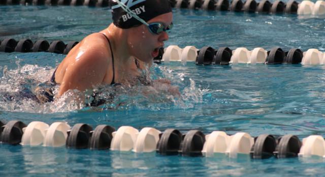 JCHS Women's Swim Team Win  the Bob Jones Invitational