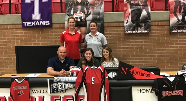 Meredith Augsburger signs with ETBU