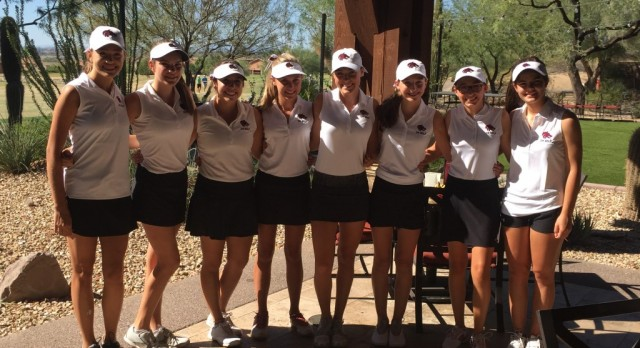 Desert Mountain High School Girls Golf Ranked #10 in the State!