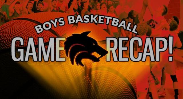 Boys Basketball Playoff Game Recap