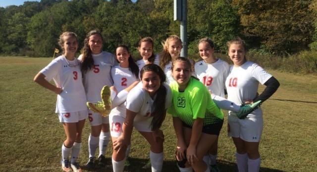 JV Soccer Ladycats vs West Carter
