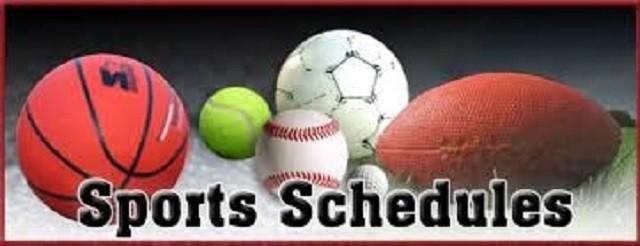 Athletic Schedule (1/16-1/21)