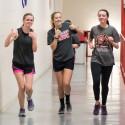Track Team Jog A Thon 3-11