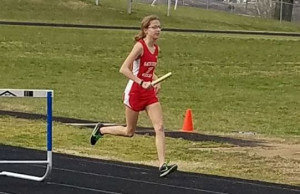 "Isabella ""Roo"" Copher: 1st 4x8m Relay, 1st 1600m & 2nd 3200m."