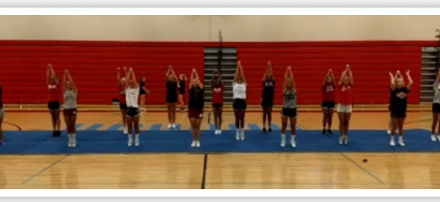 Cheer Squad holds 2017 Cheer Camp