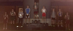 Award Stand Boys