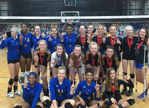 Bluegrass State Games Volleyball Champions