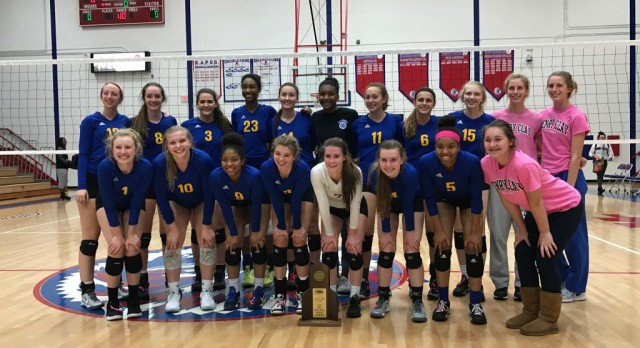 Volleyball Wins Second Straight 11th Region Title
