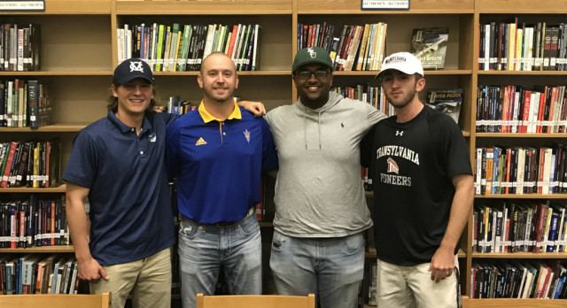 Henry Clay Baseball Signing Day