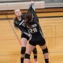 JV volleyball vs Kiowa