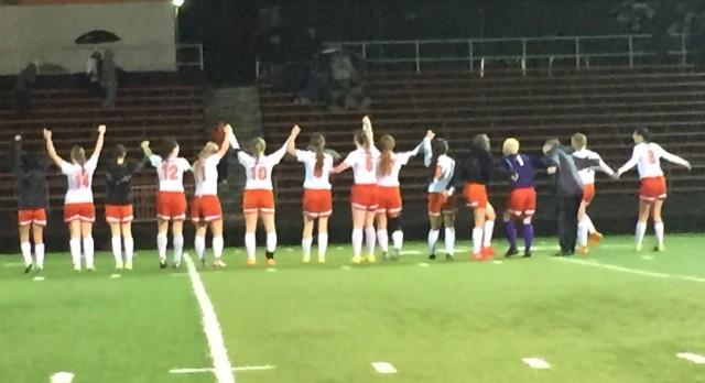 Sprague High School Girls Varsity Soccer beat Forest Grove 2-1