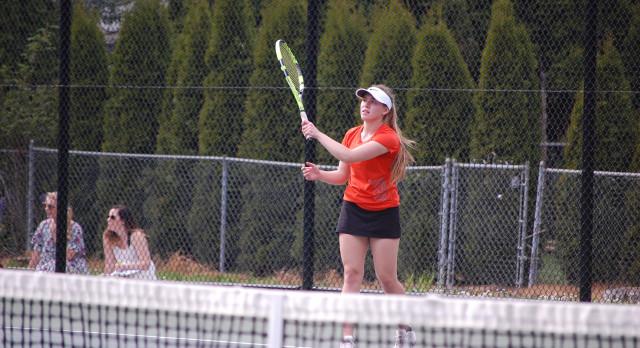 Sprague High School Girls Varsity Tennis falls to South Salem High School 6-2