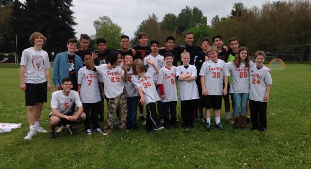Sprague Boys Soccer Community Outreach